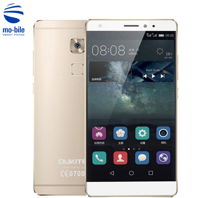 OUKITEL U13 5.5 inch 4G Mobile Phone Android 6.0 MTK6753 Octa Core 1.3GHz 3GB RAM 64GB ROM 8.0MP + 13.0MP OTG Smart Cell Phone