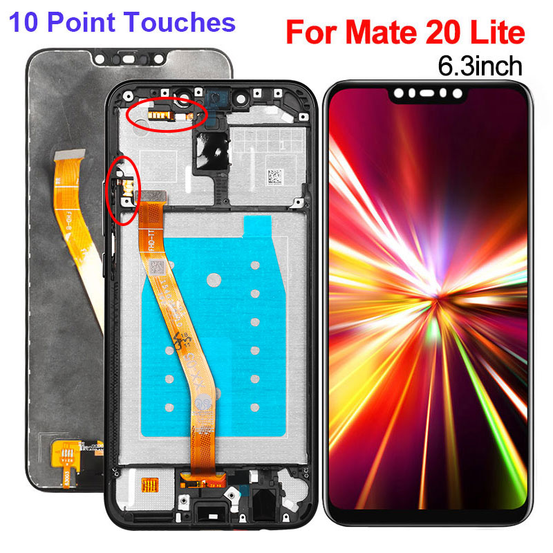 Display For Huawei Mate 20 Lite LCD Display Touch Screen Digitizer Glass Panel Replacement For Huawei Mate 20 Lite Display+FrameDisplay For Huawei Mate 20 Lite LCD Display Touch Screen Digitizer Glass Panel Replacement For Huawei Mate 20 Lite Display+Frame