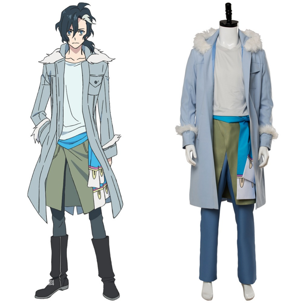 Cosplay Costume Anime Sirius the Jaeger Yuliy Cosplay Costume Outfit Adult Men Boy Halloween Carnival Costumes Custom Made