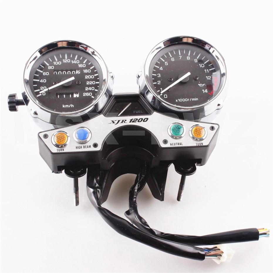 For YAMAHA XJR 1200 94-97 XJR 1200 Speedometer Tachometer Speedo Gauge Instrument 1994 1995 1996 1997 Motorcycle Meter