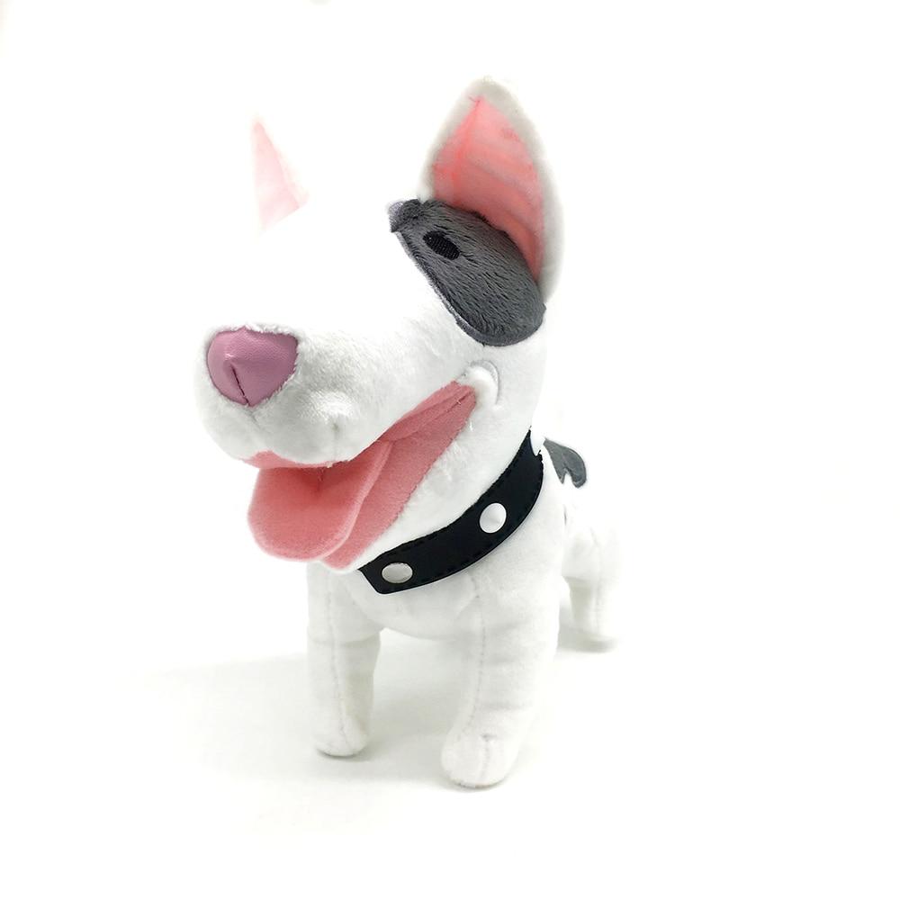Bull Terrier Shepherd Dog Soft Stuffed Dolls Kids Toys Simulation Dogs Bulldog Plush Toys Children Birthday Christmas Gift Dolls