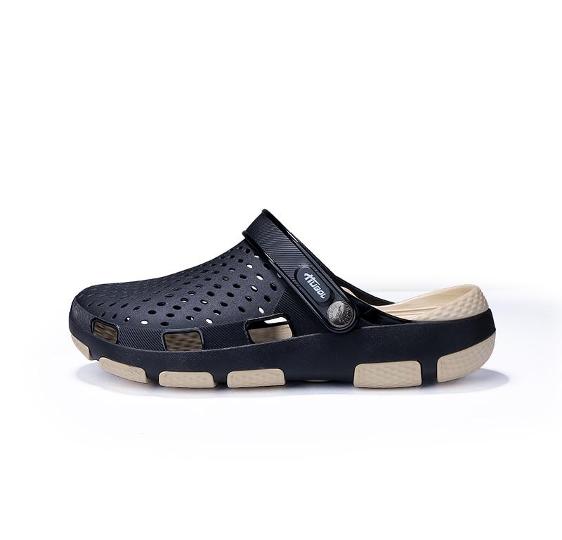 Sandals Mens Shoes Summer Clogs Mens Beach Sandals Outdoor Zuecos Men Slippers Sandalias Hombre Garden Shoes Size 41 45 Sorrynam in Men 39 s Sandals from Shoes
