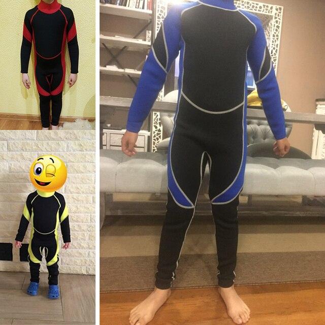 Nowy neomotion neoprenowy kombinezon do nurkowania łowiectwo podwodne pianka do nurkowania sprzęt do nurkowania Surf Spear Fishing Wetsuit dla dzieci