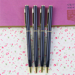 1 pcs lot new arrival metal rod rotating ballpoint pen commercial ball pen gift stationery free.jpg 250x250