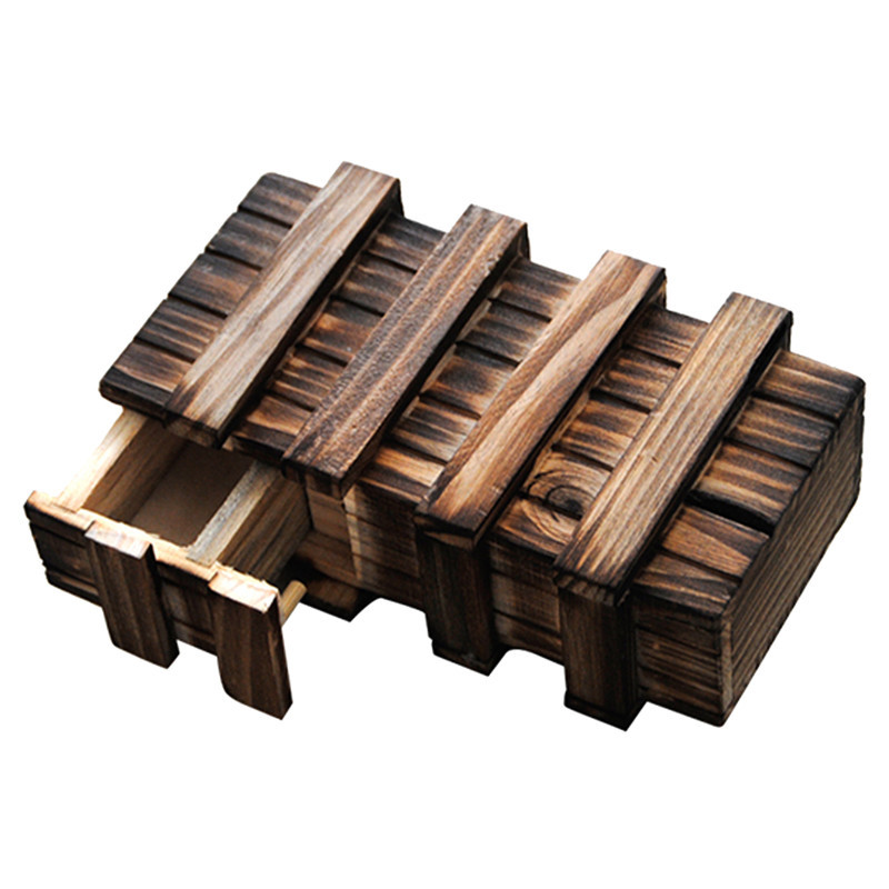 Magic Compartment Wooden Box [Educational Toy for Children]