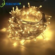 Weihnachten String Licht AC110V 220V Hochzeit/Party Dekoration Licht girlande im freien Wasserdichte led lampe 9 Farbe 500LED 50M