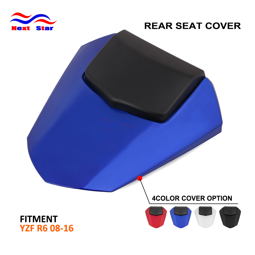 Motorcycle Multi Color ABS Plastic Rear Seat Cover Cowl For YAMAHA R6 R 6 2008 2009 2010 2011 2012 2013 2014 2015 2016