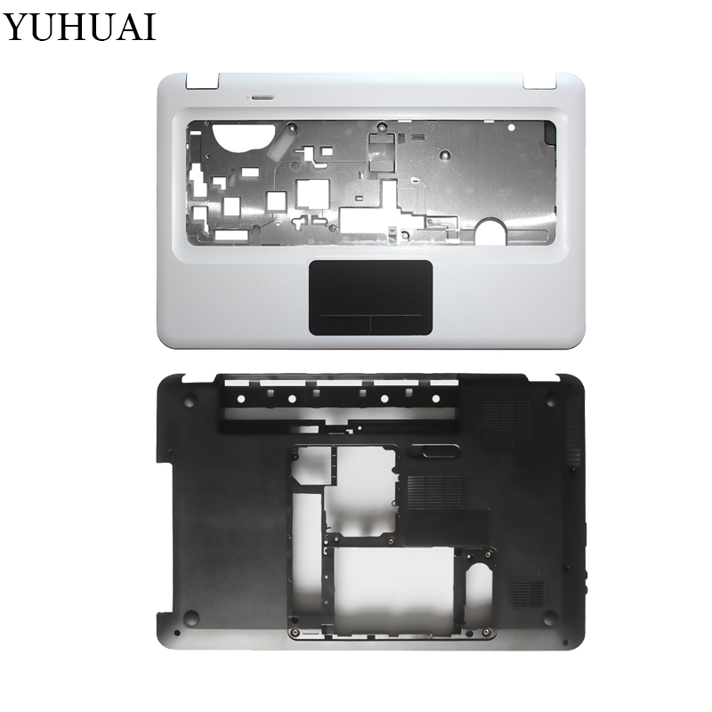 Laptop cover For HP Pavilion DV6 DV6-3000 DV6-3100 3ELX6BATP00 603689-001 Palmrest Touchpad top Upper cover/Bottom Case Cover new top cover upper case for hp 450 455 palmrest 685762 001 6070b0591701 gray