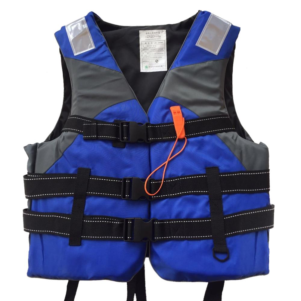 Водный спорт спасательный жилет Флотационное устройство спасательный жилет с высокой видимостью Светоотражающие панели для нарезания резьбы Каякинг Рыбалка дрейфующих Спасательный жилет      АлиЭкспресс