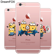 L596 Minions Soft TPU Silicone Case Cover For Apple iPhone 11 Pro XR XS Max 8 X 7 6 6S Plus 5 5S SE 5C 4 4S apple чехол moschino iphone6 5s 5c plus 4s