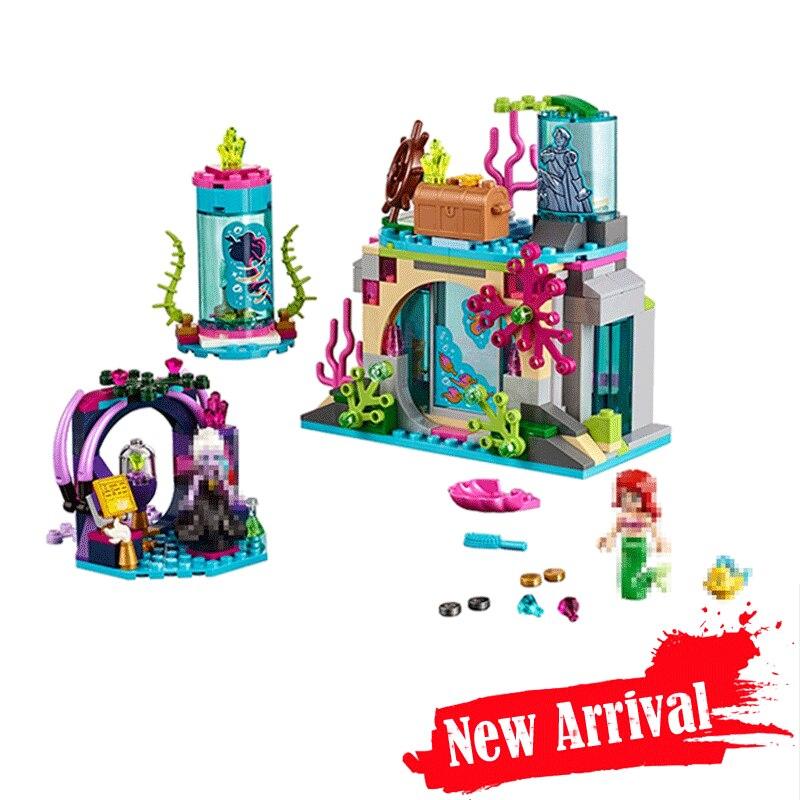 Лепин 25010 Ариэль и магические заклинания друзья строительные блоки кирпичи игрушки для девочек Подарки brinquedos 249 шт. legoINGly 41145