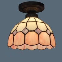 Pendant Light Stained Glass Dragonfly Country Style Dining Room Decor Hanging Lamp E27 110 240V