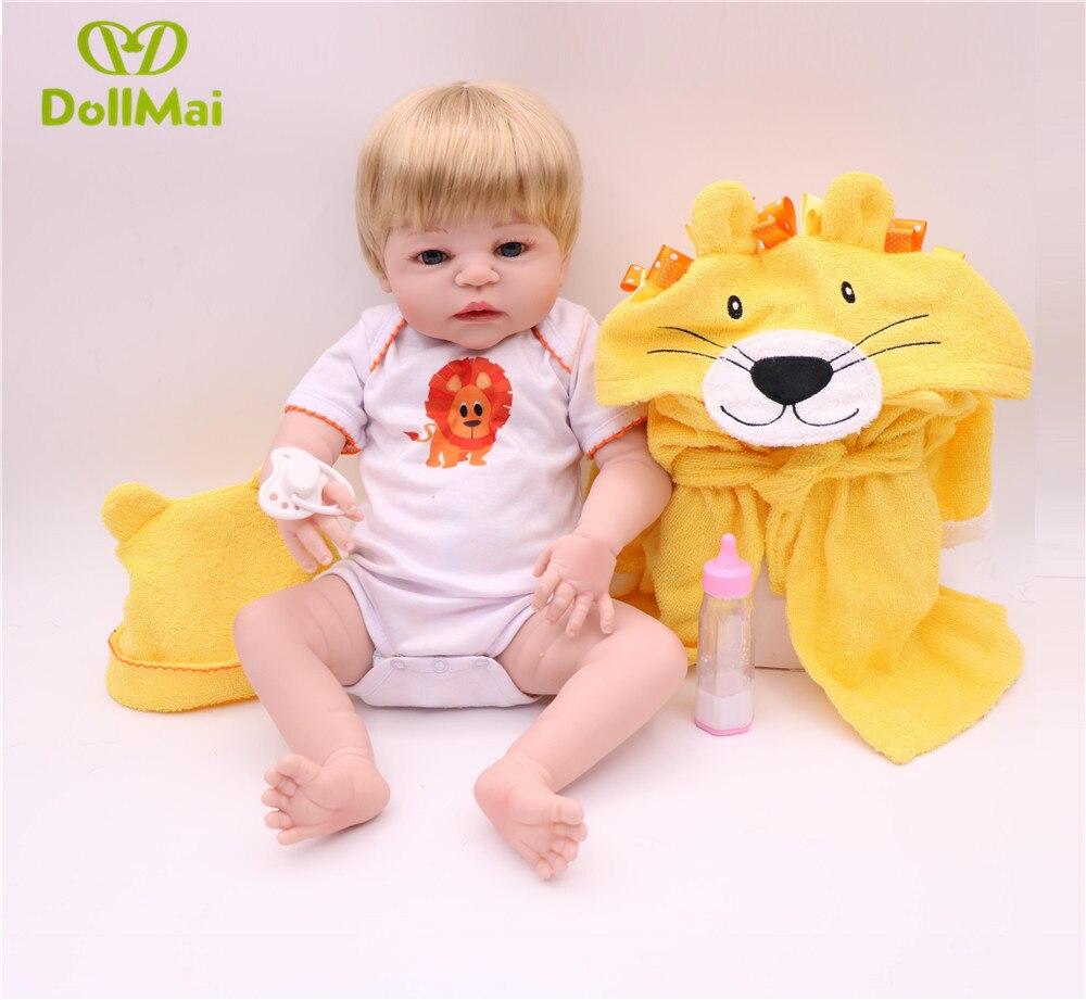 Dessin animé lion reborn bébé poupées 22