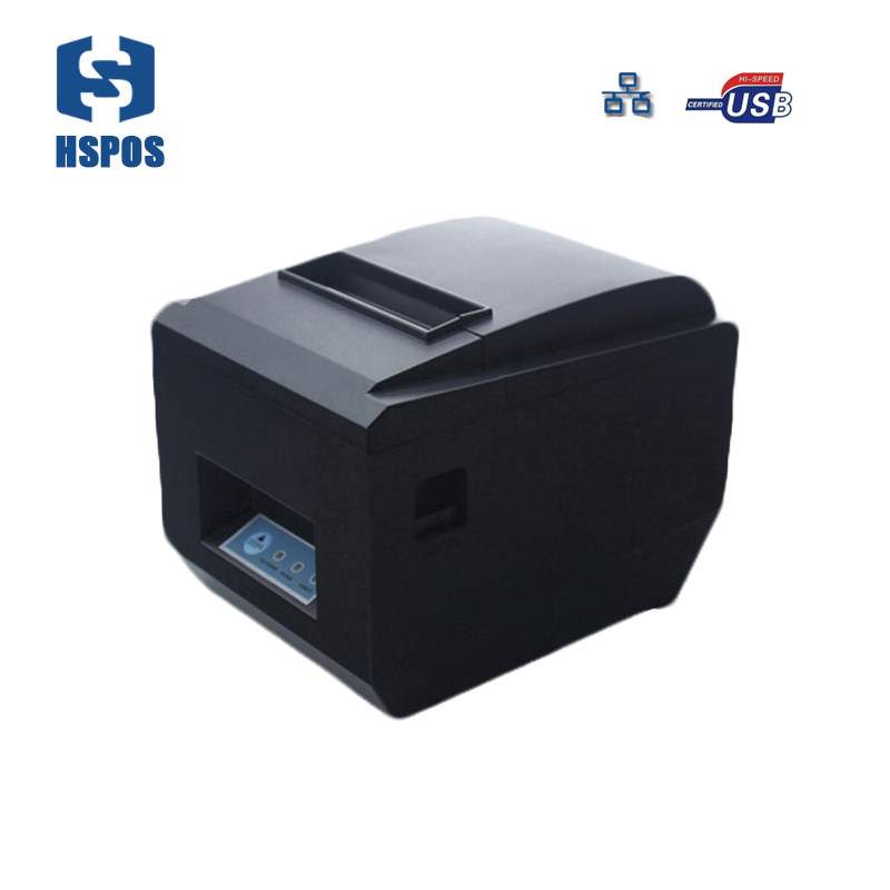 pos receipt printer 80mm tc 80230 USB and enthernet port bill printing machine support multiple computer system print HS-825UL свитшот print bar bill