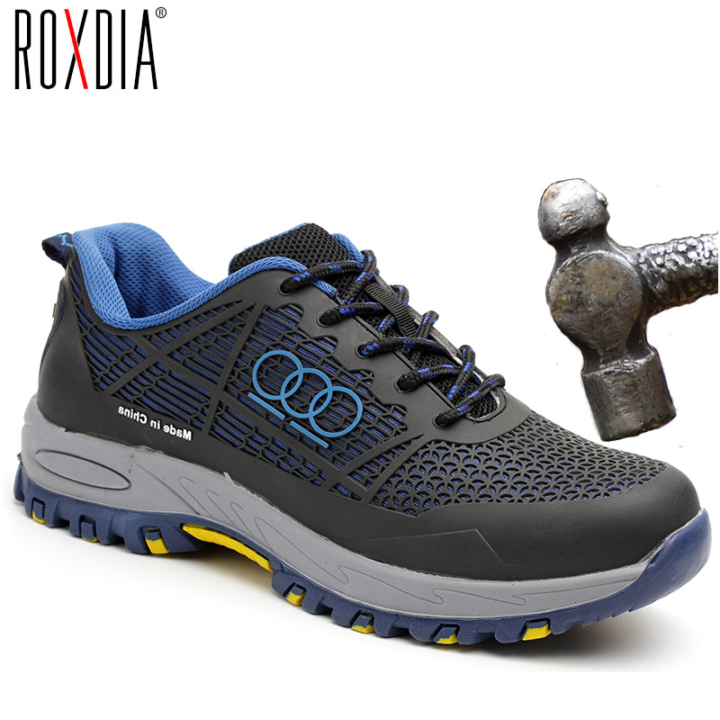 ROXDIA brand steel toecap men work & safety boots summer breathable insulation 6KV impact resistant male shoes size 38-44 RXM115ROXDIA brand steel toecap men work & safety boots summer breathable insulation 6KV impact resistant male shoes size 38-44 RXM115