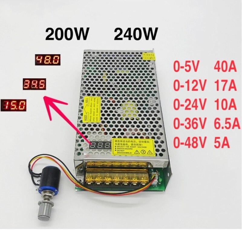 Преобразователь переменного тока с цифровым дисплеем 220 В 110 В в постоянный ток 12 в 24 в 36 в 48 в плата импульсного источника питания с регулируемым напряжением|Импульсный источник питания|   | АлиЭкспресс