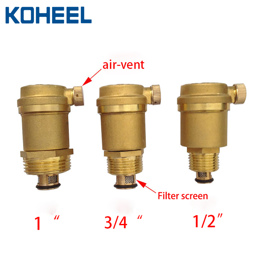Brass Forging Automatic Exhaust Valve 1/2