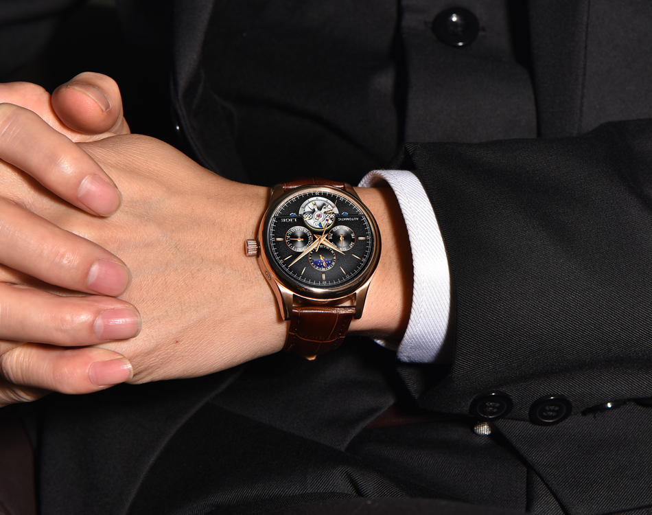 HTB1eHV9aJfvK1RjSszhq6AcGFXaF LIGE Brand Men Watches Automatic Mechanical Watch Tourbillon Sport Clock Leather Casual Business Retro Wristwatch Relojes Hombre