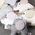 Хлопок Слон Кровать вокруг Творческой Кровать Вай Свежий Вышивка Печати Младенческой Постельные Принадлежности LD1124023