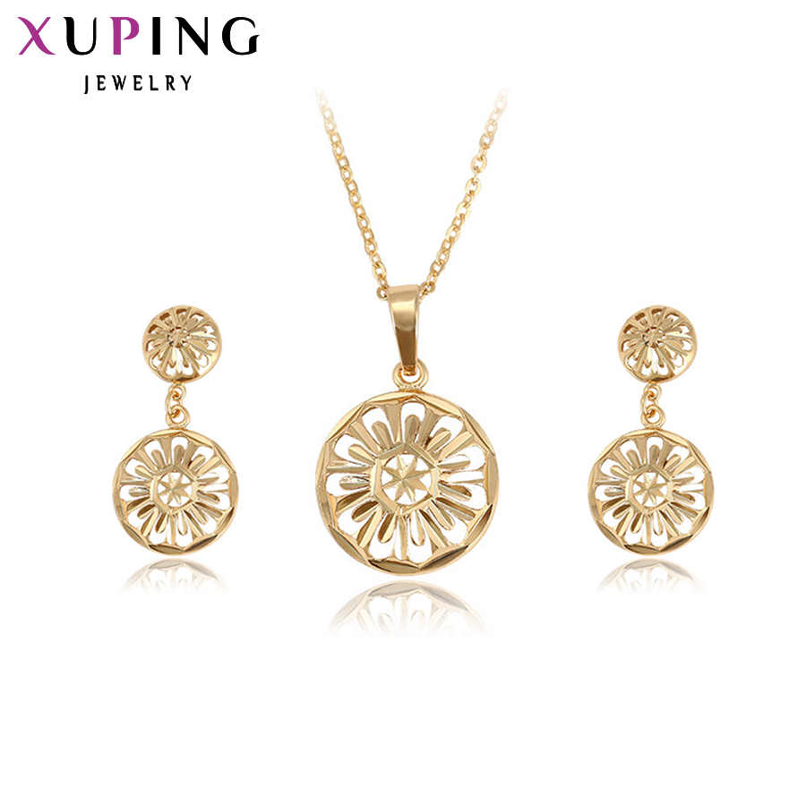 da286a259 Set Jewelry-Sets Xuping Imitation Gold-Color Fashion Women New-Arrival  Plated S26