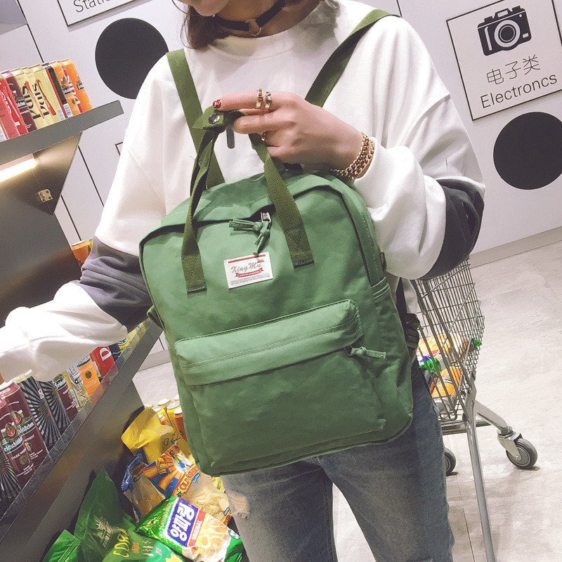 New Brand Women Backpack Schoolbags Bags For Teenage Girls Female Vintage Stylish Korean Casual Travel Backpack Mochila Feminina