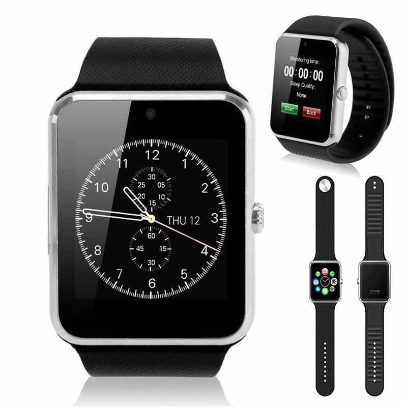 Smart Wrist Watch GT08 Clock Sync Notifier Support Sim Bluetooth Connectivity For iPhone Android Smartphone Health