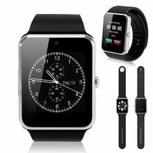 Smart armbanduhr gt08 uhr sync notifier unterstützung sim bluetooth konnektivität für iphone android smartphone gesundheit smartwatches