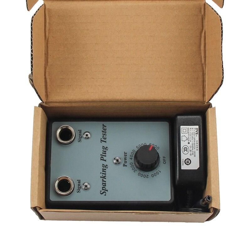 HTB1eHWHbfvsK1Rjy0Fiq6zwtXXaU Dual Hole Car Spark Plug Tester Ignition Plug Analyzer Diagnostic Tool Automotive Spark Plug Detector