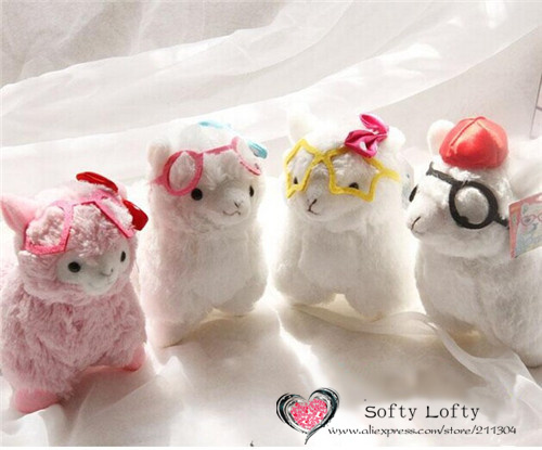 Alpacasso with glasses small - 4