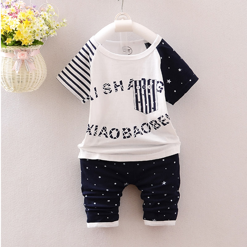 2016 new baby boy girl's sets newborn short sleeve clothes infant kids clothing 100%cotton toddler character printed summer sets baby girl 1st birthday outfits short sleeve infant clothing sets lace romper dress headband shoe toddler tutu set baby s clothes