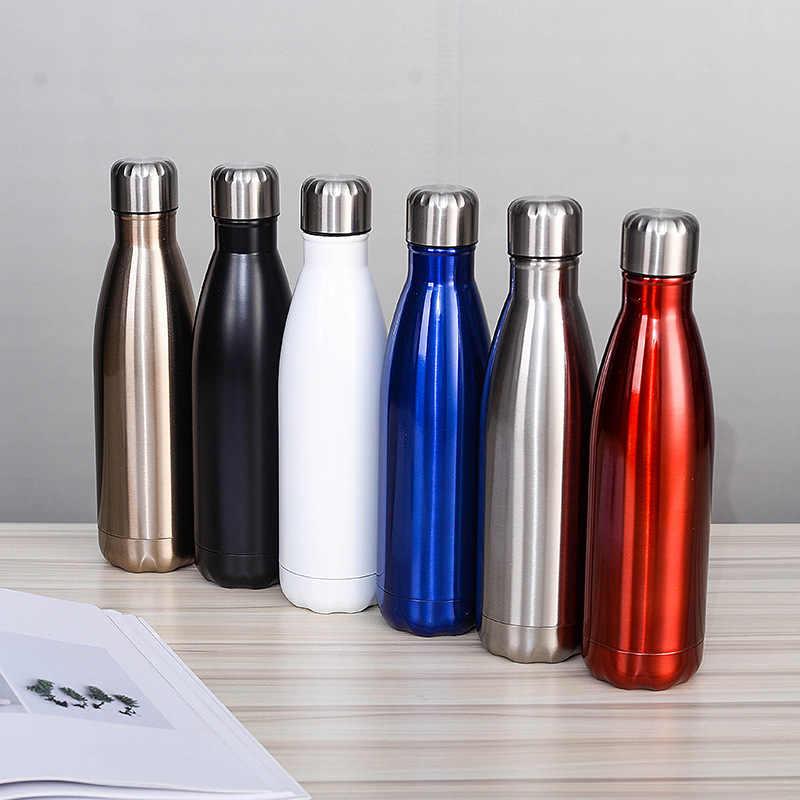 500ML personalizado equipo de Rugby botella Chilly botella de vino de acero  inoxidable forma de termo botella de viaje del coche botella de bolos| | -  AliExpress