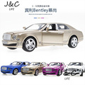 Hot New 1:32 Bentley Mulsanne Metal Alloy Diecast Toy Car Model Miniature Scale Model Sound and Light Emulation Electric Car