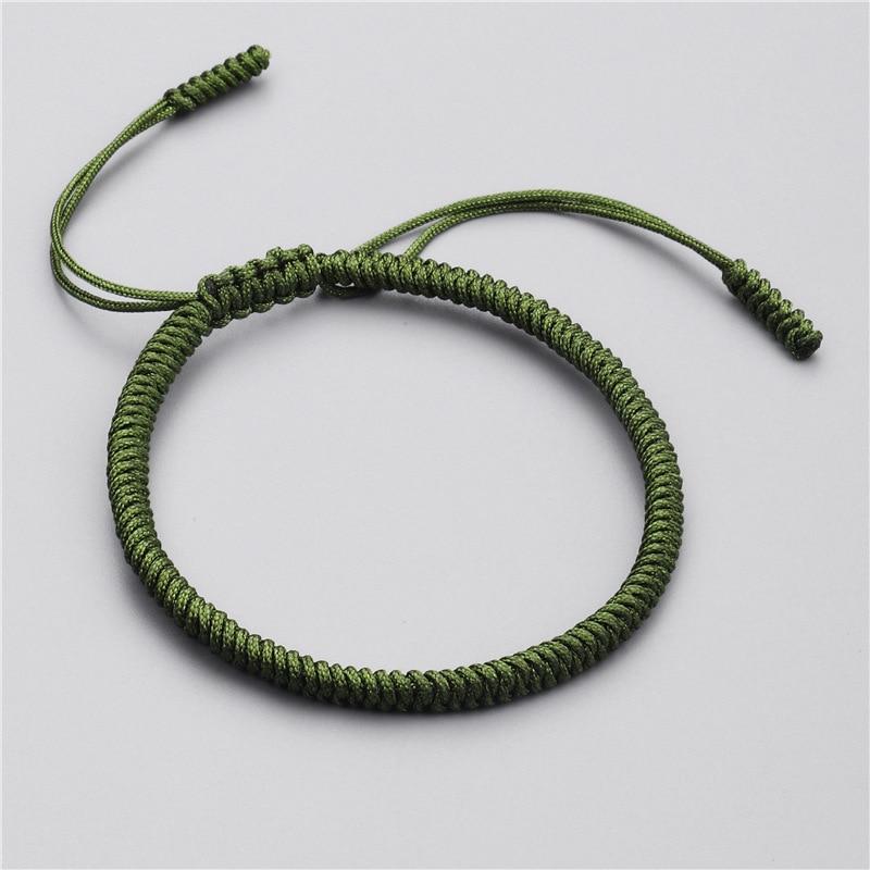 Handmade Tibetan Buddhist Bracelets For Women Men 7 Chakra Yoga Bracelet Red Thread Rope Braided Lucky Amulet Homme