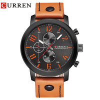 CURREN Luxury Casual Men Watches Analog Military Sports Watch Quartz Male Wristwatches Relogio Masculino Montre Homme