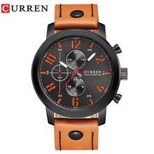 CURREN Lujo Casual Hombres Relojes Analógicos Deportes Militares Reloj de Cuarzo Masculino Del Relogio masculino Montre Homme 8192