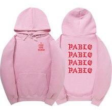 new 2017 brand casual men and women hooded sweatshirt high quality Pablo hoodie and sweatshirt