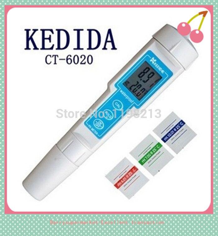 ФОТО CT-6020 Digital PH meter PH Pen protable PH tester PH monitor