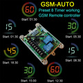 Free shipping GSM-AUTO GSM Remote Control System ( Double Relay output Wireless switch Control )