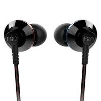 FIIO EX1 2nd gen EX1II EX1 II Nanotech Titanyum Diyafram Kulak Monitörler Kulaklık 3.5 MM TRS Altın-kaplama L fiş Hi-res Ses