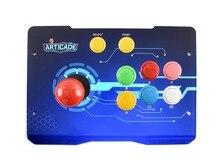Waveshare Arcade D 1P caixa de controle arcade usb para raspberry pi/pc/notebook/otg android telefone/tablet/smart tv 1 jogador
