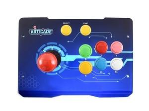 Image 1 - Waveshare boîtier de commande darcade USB Arcade D 1P, pour Raspberry Pi/PC/Notebook/OTG téléphone Android/tablette/Smart TV 1 joueur
