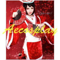 Ladies Fancy Dress Adult Women LOL Ghost Dancer Carrie Costume Cosplay Red Princess Costume