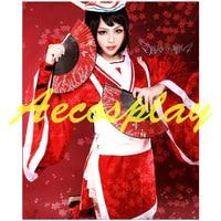 Ladies Fancy Dress Adult Women LOL Ghost Dancer Carrie Costume Cosplay Red Princess Costume