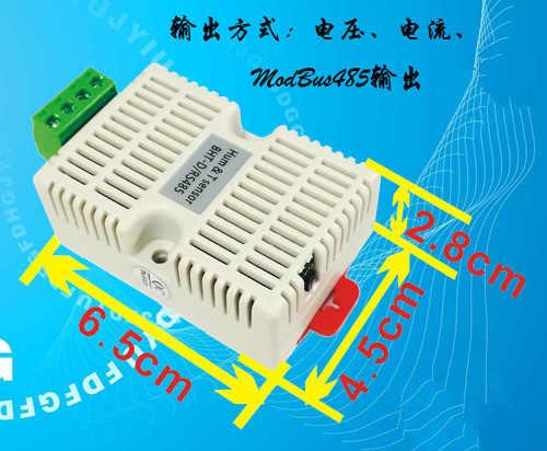 12 V-24 V BHT-D czujnik temperatury i wilgotności 0-5 v wilgotności 0-10 v 4-20ma izolacji 485 telewizor z płaskim PTC zabezpieczenie przeciwprzepięciowe