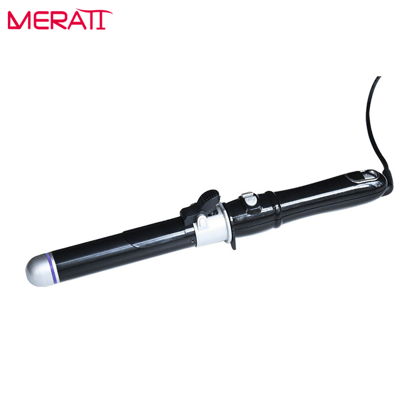 2017 New Professional Hair Curling Irons Titanium Ceramics Glaze curlers roller Protect hair Curling Irons Hairstyle Tool 2017 new arrival raccoon hair curling
