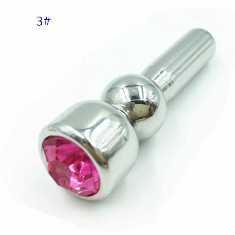 Modelos De Metal 5 Som Uretral Cateter Uretral Dilatador Uretral Plug Inserções de Pênis Brinquedos Sexuais para Homens Masturbador Masculino B2-3-34