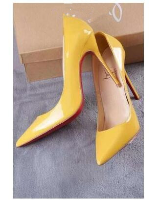 2019 marque de luxe chaussures femmes fond rouge talons hauts classique femme pompes - 5