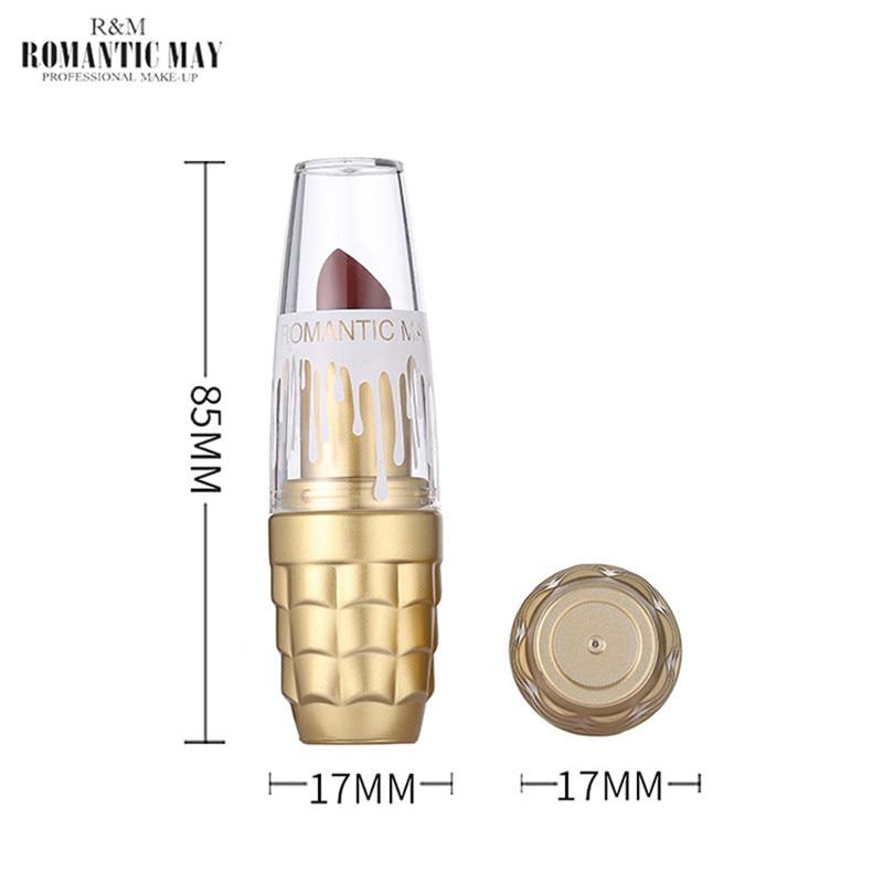 Velvet Matte Lipstick Makeup Golden Nude lipstick Matte Long Lasting Lips Stick Makeup Cosmetics for women in Lipstick from Beauty Health