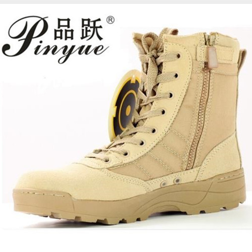 082608eba61bb big size 37--46 Men Combat Boots Shoes Male Tactics Boots Desert Shoes  Camouflage Military Tactical Boots Sapatos Masculino