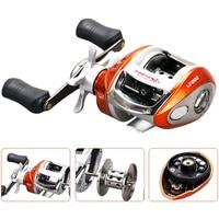 YUMOSHI Fishing reel carp fishing Baitcasting Reel Gear Ratio 6.3:1 Bait Casting Right Left hand Magnetic brake Water Drop Wheel